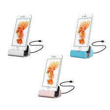 1Pcs Station Charger New Charge Sync Desktop Stand Hot Dock For iPhone Cradle