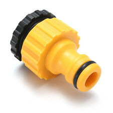 """3/4"""" Male  Plastic Threaded Hose Water Pipe Connector Tube Tap Snap Adaptor Fitt"""