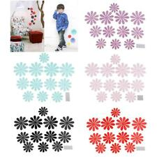 12pcs Flowers Petal Pattern 3D Wall Stickers Acrylic Stickers for Home Decor