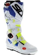 Sidi Yellow Fluo-White-Blue Crossfire 2 SRS MX Boot