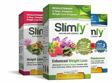 Slimfy Weight Loss Supplements - 3-Stage Complete Weight Loss Program 3 Months