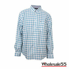 Tommy Hilfiger Men Long Sleeve Button Down Plaid Classic fit Casual Shirt NWT