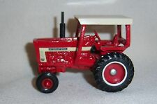 1/64 Ertl International 1066 with 4 Post Rops and WFE Farm Toy Tractor Diecast