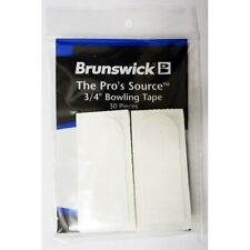 "Brunswick ick The Per's Source Bowlers Tape in 3/4"" and 1"" white for Thumb hole"