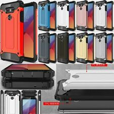 Hard TPU+PC Hybrid Protective Armor Shockproof Case Cover Skin For LG Cell Model