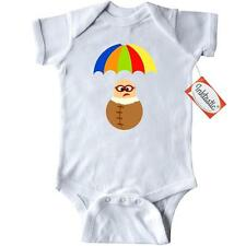 Inktastic Sky Diver Rainbow Parachute Funny Infant Creeper Skydiver Skydiving