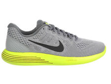 NEW MENS NIKE LUNARGLIDE 8 RUNNING SHOES TRAINERS WOLF GREY / ANTHRACITE / VOLT