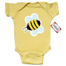 Inktastic Bumble Bee Infant Creeper Insect Bug Wings Black Yellow Summer Spring