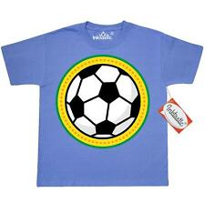 Inktastic Soccer Ball Sports Gift Youth T-Shirt Player Coach Logo Colorful Kids