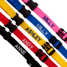 Personalised buggy push chair strap