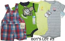 Lot Romper 4 Creeper Boys 1 Pc Summer Baby Clothes 6M Carters OshKosh Outfits