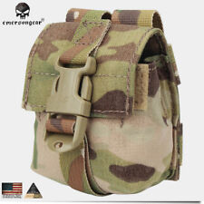 EMERSON LBT Style Single Frag Grenade Pouch Tactical Hunting Bag Gear CP EM6369