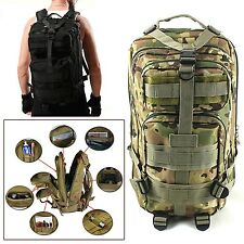 Assault Backpack Outdoor Sport Military Tactical Hiking Airsoft Camping Backpack