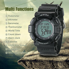 Thermometer SPOVAN 5ATM Climbing Digital Sports Watch Altimeter Pedometer Watch