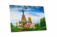 St. Petersburg, Russia Church of the Savior on Spilled Blood Canvas Wall Art