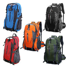 Durable Backpack Waterproof Hiking Travel Outdoor Bag Camping Men & Women Nylon