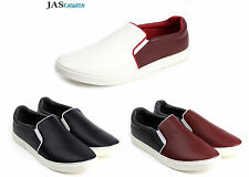 Mens Casual Slip On Flat Shoes Espadrilles Summer Plimsolls Trainers Size 7-12