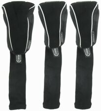 Pro-Tekt Set of 3 Golf Club Headcovers Driver and 2 Fairway Quality Neoprene