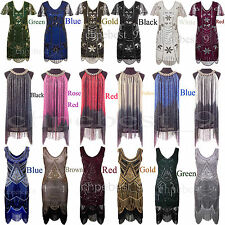 Gatsby 1920s Flapper Dresses Prom Gown Wedding Bridesmaids Formal Party Costumes