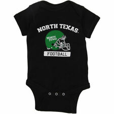 North Texas Mean Green Infant Black Football Bodysuit - College