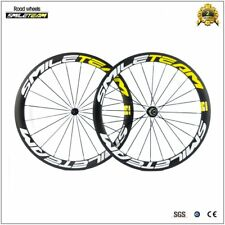 700C Clincher Carbon Wheelset Bicycle Road Racing R13 Bike Rims Wheels 50mm HUB