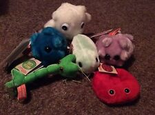 New with Tags Giant Microbes Choice of Nerve, Cell, Disease, Flu Plush