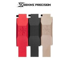 Seekins Precision Billet Trigger Guard-Drop In Replacement-Black-Red