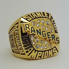 New York Rangers 1994 Stanley Cup Championship Copper Ring Size 8-14 Solid Gift