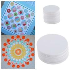 100x Round Blank Paper Quilting Templates for Patchwork Sewing Crafts 22mm/58mm