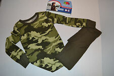 Boys Fruit of the Loom Therma Underwear Set  Sizes XS NWT Green Camo