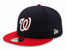 Washington Nationals Alternate On Field 2017 Fitted Cap Hat All Size MLB New Era