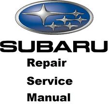 ALL SUBARU LEGACY & OUTBACK FACTORY SERVICE MANUAL FAST SEND 1990 TO 2016