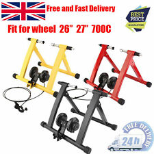 Upgrade Turbo Trainer Magnetic Indoor Bike Trainer for Road/Mountain Bicycle SA
