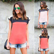 NEW Top Sleeveless Shirt Blouse Casual Tank Tops Fashion Women Summer Vest