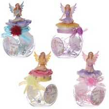 Magical Fairy Wishes Jar Ornament With Fairy On Lid Home Decoration Gift For Her