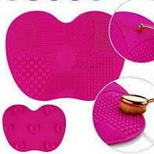 Makeup brushes Cleaner Mat Wet clean washing scrubber cosmetic pad tool glove