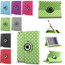 Heavy Rotating Folding Folio Leather Case Stand Hard Cover For Apple iPad 2 3 4