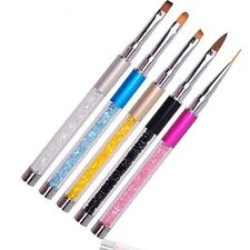 UV Gel Nail Art Pen Acrylic DIY Nail Drawing Polish Manicure Brush Paint Pen