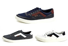 Mens Lace Up Comfort Trainers Sport Casual Fashion Gym Flat Shoes UK Size 7-11