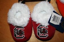 NEW USC Carolina Gamecocks NCAA  Children Infant Baby Booties Shoes Slippers