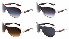 Sunglasses LUXE Biker Style One Piece CE Certified UV Protected (BK9516)