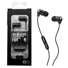 Skullcandy Riff In Ear Headphones With Microphone and Remote NEW-Black