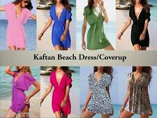 Kaftan Style Beach Dress/Cover-up - One size fits most (approx UK 10, 12, 14)