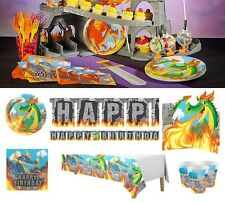 Digby Dragon Birthday Party Supplies Tableware Plates Napkins Cups Decorations