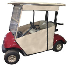 Yamaha Drive(G29) - Sunbrella Track Golf Cart Enclosure. Includes Solid Valance!