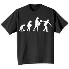 Evolution Of Sport Bowling T-Shirt