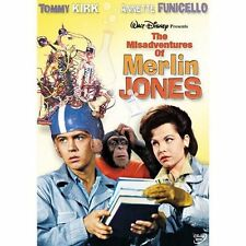 The Misadventures Of Merlin Jones by Tommy Kirk, Annette Funicello, Leon Ames,