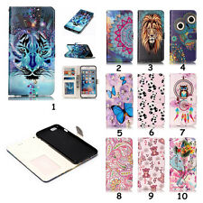 3D Texture Pretty Pattern Wallet PU Leather Case Flip Stand Case Cover For Phone