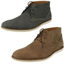 Men's Clarks Casual Desert Lace Up Ankle Boots Franson Top