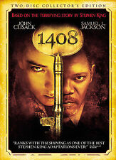 1408 (DVD 2007 2-Disc Set Collector's Ed.) RARE JOHN CUSACK  NEW W SLIPCOVER